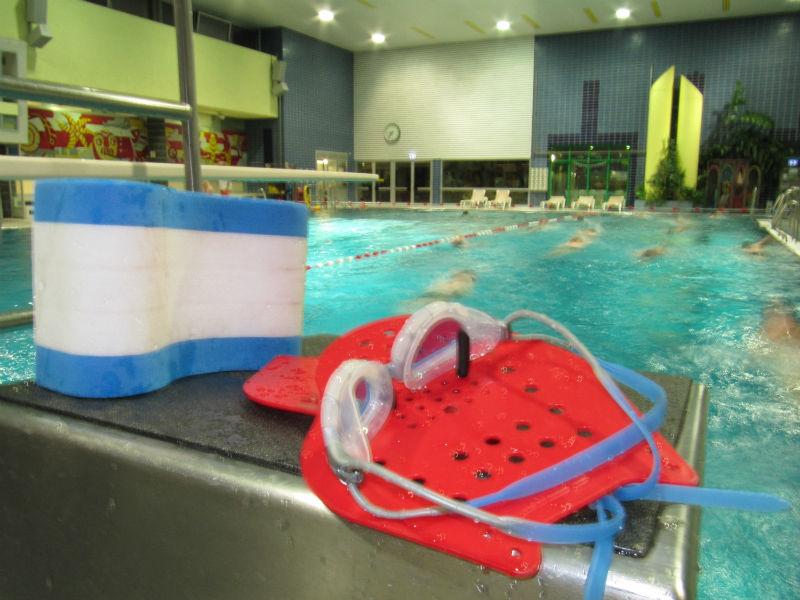 Schwimmer Stillleben