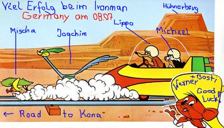 Road to Kona